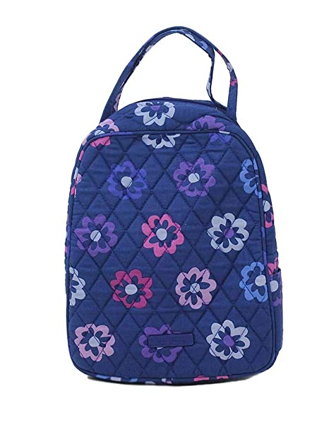 398a43ea1 Amazon.com: Vera Bradley Lunch Bunch Lunch Box (Carbon Gray): Kitchen &  Dining
