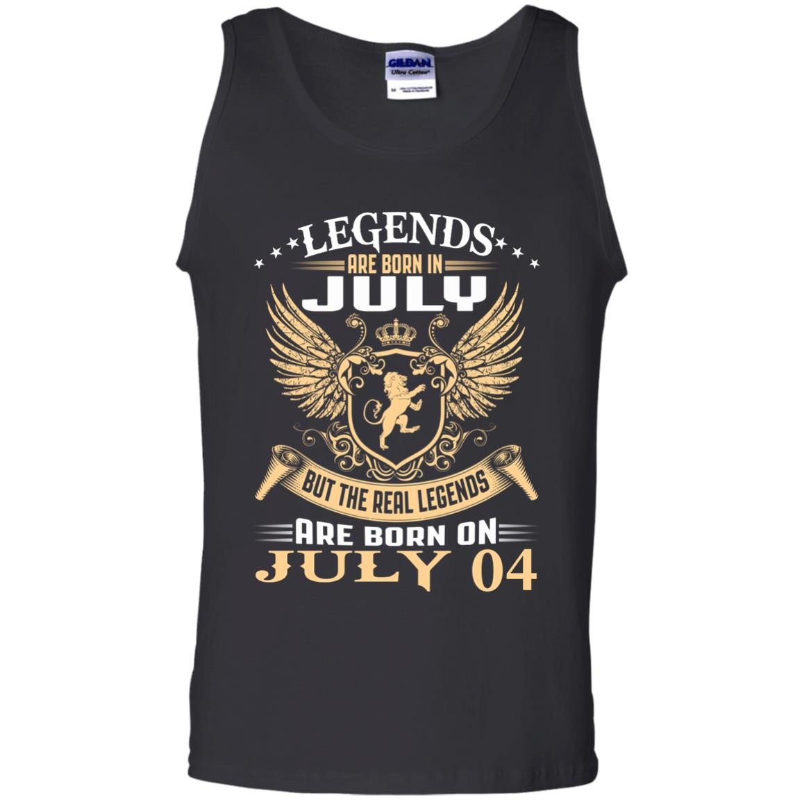Tank top 1007 The real kings legends are born on july 04