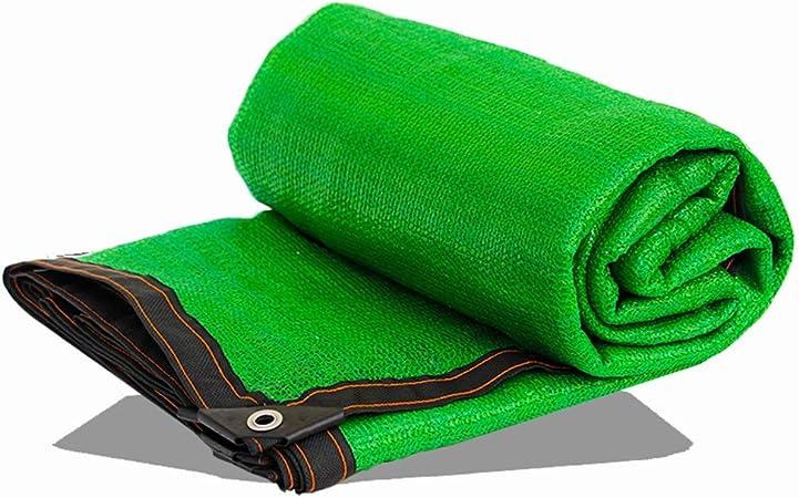 HAIZHEN Tela de Malla de Malla de Malla Verde con Arandelas Resistentes a la radiación Ultravioleta para Patio Exterior Jardín (Color : Verde, Tamaño : 2×5m): Amazon.es: Hogar