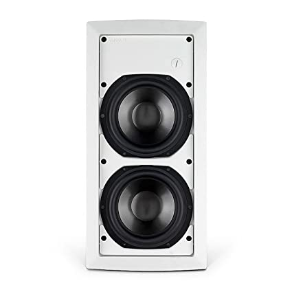 In Wall Subwoofer >> Amazon Com Tannoy Iw62 Ts Flush Fit In Wall Subwoofer Speaker