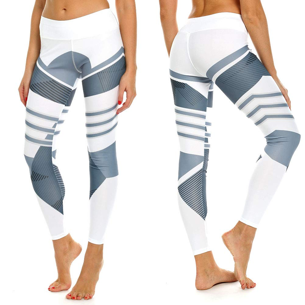 e36f02af54455 FITTOO Women's Yoga Pants Sport Pants Workout Leggings Sexy High Waist  Trousers at Amazon Women's Clothing store: