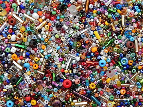 1/4 Lb Pound Bulk Miyuki Matsuno Czech Trade Bugle Rocaille E Seed Beads Mix Lot