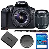 Canon EOS 1300D / T6 EF-S 18-55mm 18.7MP CMOS 5184 x 3456 Pixels (Black) + 16GB SD Card Review