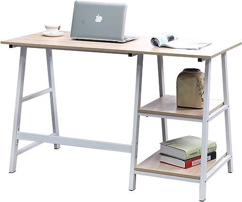 DlandHome 55 Inches Large Computer Desk
