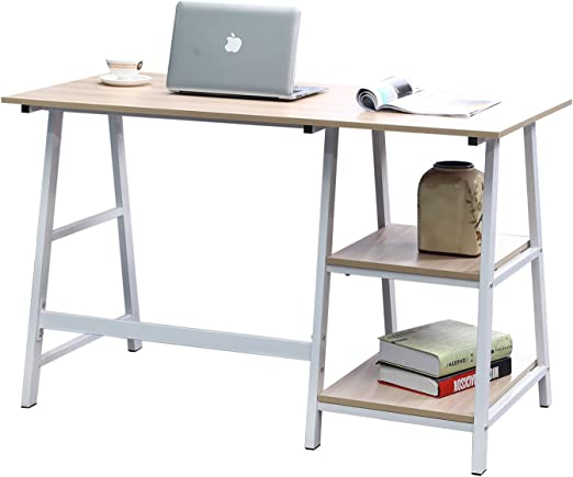 sogesfurniture Escritorio de Oficina 120 x 60cm Mesa de Ordenador ...