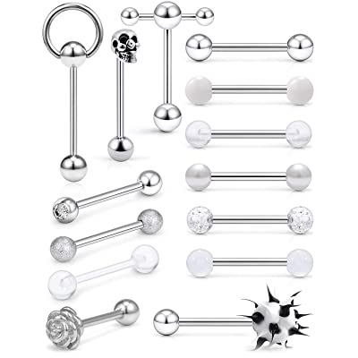 Silicone Balls Barbells Body Piercing
