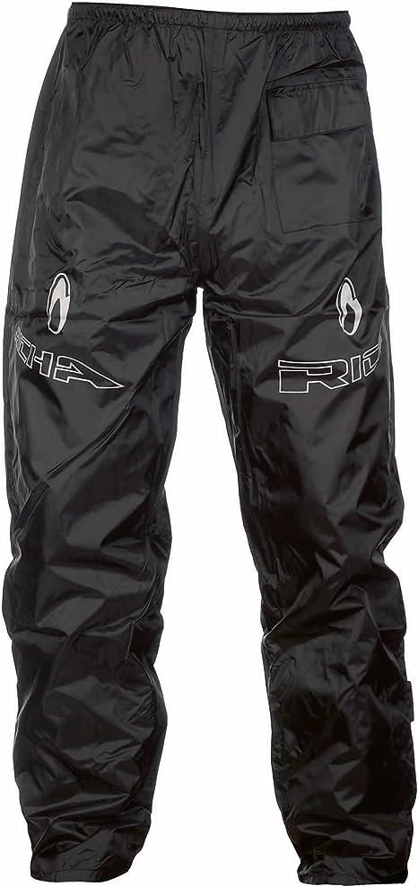 Richa Rain Warrior Mens Motorbike Motorcycle Trousers Black