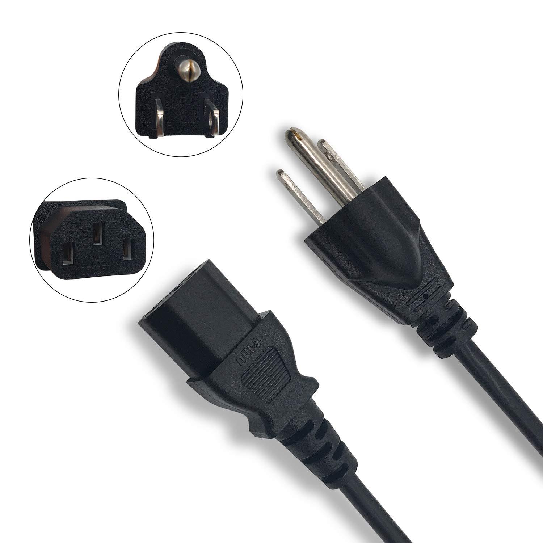 NAHAO - Cable de alimentación para televisores de 6 pies ...