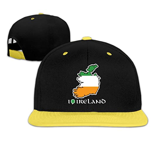 Kids Boys Girls I Love Ireland Baseball Cap Hats Snapback Cotton Caps