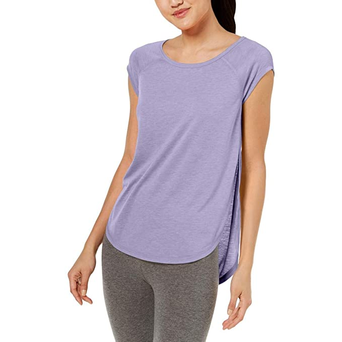 d28d1df8 Calvin Klein Women's Cap Sleeve Tee with Back Cut Out at Amazon ...
