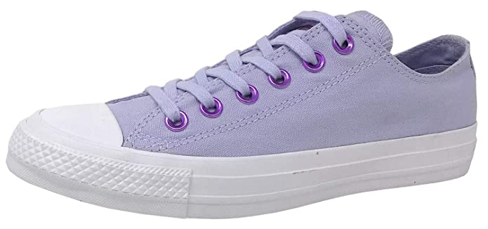Converse Chucks Chuck Taylor All Star Low Top Ox Sneakers Unisex Violett (Oxygen Purple)
