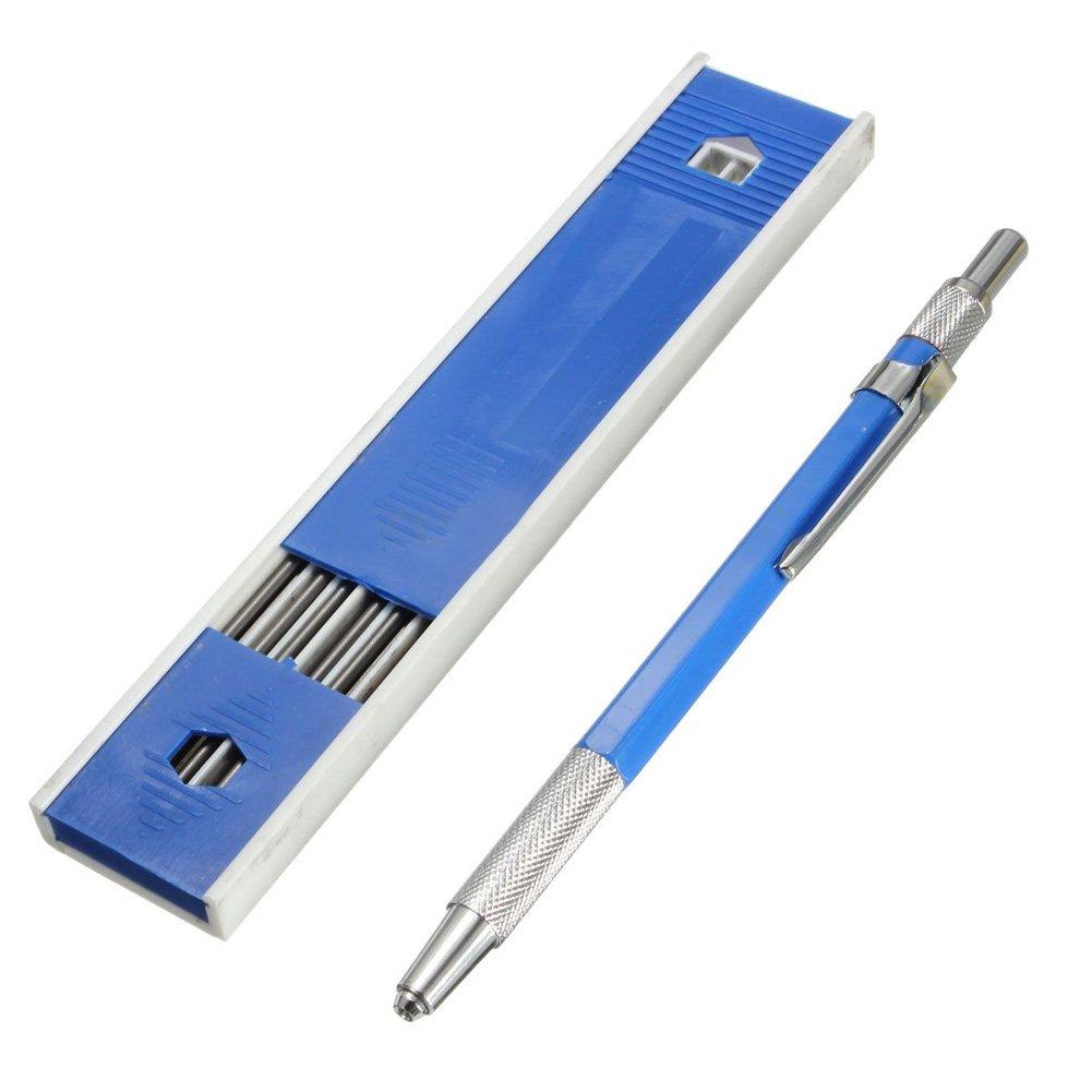Everpert 2mm 2B piombo supporto automatico Draughting stesura matita meccanica 12x cavi