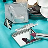108 Shoe Design Mirror Compacts