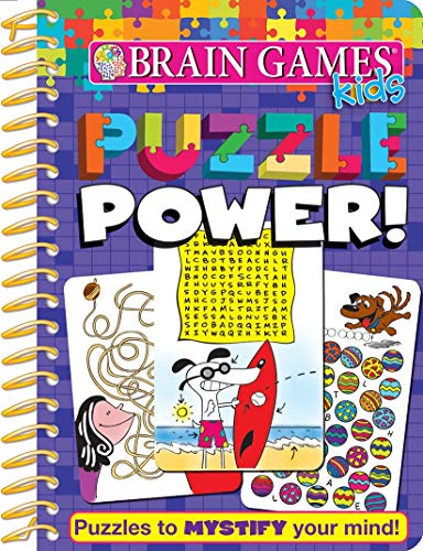Brain Games Kids - Puzzle Power! Activity Workbook - PI Kids