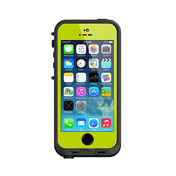 online retailer b4b39 1e337 LifeProof FRE iPhone 5/5s Waterproof Case - Retail Packaging - LIME  (Discontinued by Manufacturer)