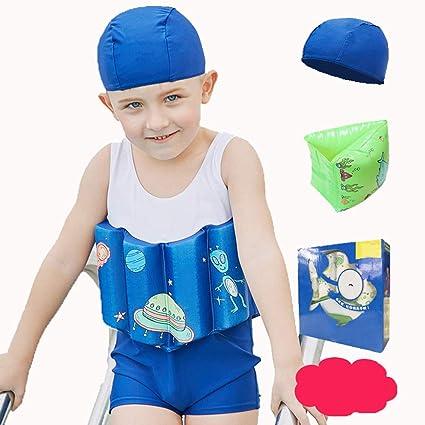 IMON LL Traje de Flotador de los niños, Trajes de baño de Buoyancy bañador de