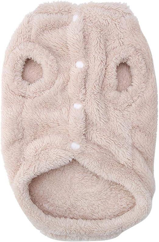 TOPINCN Gato Ropa de Invierno Calentamiento de Fibra de algodón ...