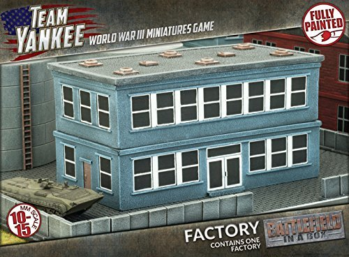 - Flames of War Battlefield in a Box: Factory Building
