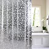 NEO Home Classic Marilyn Monroe Waterproof, Mildew-free Shower Curtain for Bath, Bathroom Decor Sets With 12 Plastic Hooks, Multi Size Available.