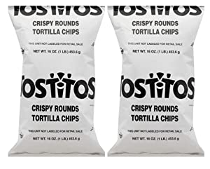 Tostitos Gluten-Free Crispy Rounds Tortilla Chips - 2 Pck (2 lbs)