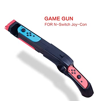 HEATFUN Game Gun Controller Compatible with Nintendo Switch Shooting Games  Wolfenstein 2: The New Colossus, Big Buck Hunter Arcade - Nintendo Switch
