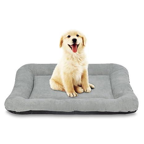 E-starain Cama para Perro/Gato,Perrera 80 x 60 x 10 cm