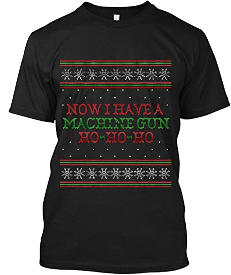 Amazoncom Die Hard Now I Have A Machine Gun Ugly Christmas Sweater