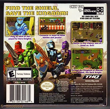 Lego Knights Kingdom (GBA) [Game Boy Advance] - Game ...