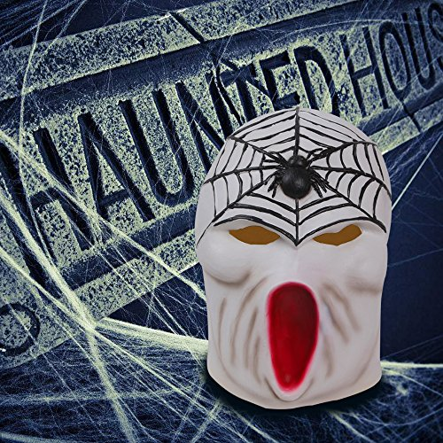 Cheap Gas Masks - Halloween Mask AmyHomie Halloween Cosplay Costume Party Decorations Vampire Zombie Horror Scary Masks Clown Mask with hair Latex head mask