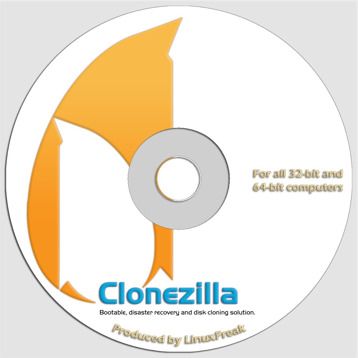 CloneZilla - System Deployment and Imaging Solution similar to Norton Ghost by LinuxFreak