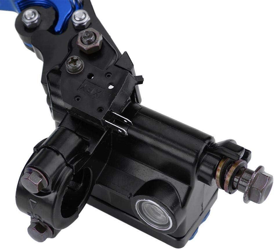 22mm Levers 1 paire 7//8 Ma/ître-cylindre Couleur : Argent dembrayage de frein moto universel du ma/ître-cylindre r/éservoir for Levers moto Tuning