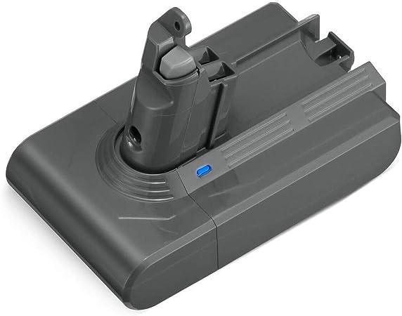 Dyson V6 - Batería de Repuesto para aspiradora Dyson V6 (3500 mAh, 21,6 V, 21,6 V, para Dyson V6, 595, 650, 770, 880, DC59, DC58, DC61, DC62, DC72, DC74): Amazon.es: Hogar