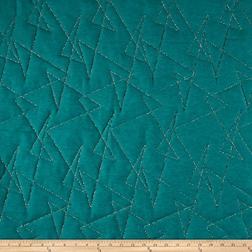 ARTISTRY Mod Quilted Upholstery Fabric by The Yard, Peacock