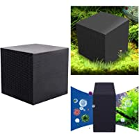 B&K Activated Filter Carbon Eco-Aquarium Water Purifier Cube Block, Ultra Strong Filtration Absorption, 10 X 10 X 10 CM…