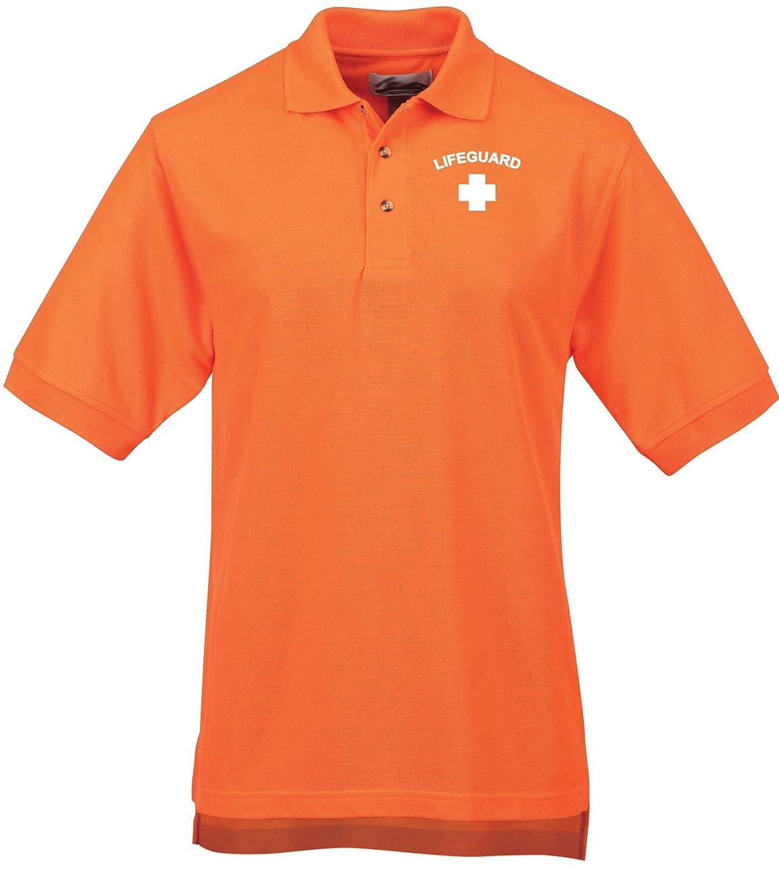 Buy Cool Shirts Mens Lifeguard High Visibility Polo Shirt