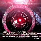 POWER DANCE - Large unique Sound Production Library 4.4GB Wave Samples on DVD or download