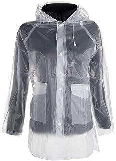QHP Regenjacke Kunststoff transparent 8-14 Jahre und S XL