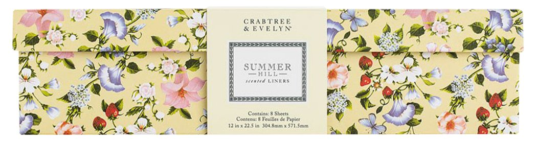 CRABTREE & EVELYN Summer Hill Drawer Liners 12 in x 22.5 in 48217