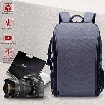 """Womdee - Mochila para cámara réflex Digital (15,6"""", Impermeable, antigolpes"""