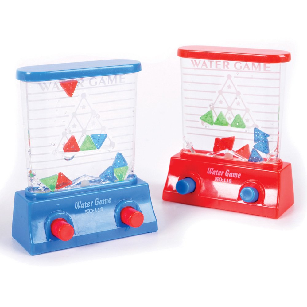 Rhode Island Novelty 1 X Water Game Triangles Colors may vary Red Blue