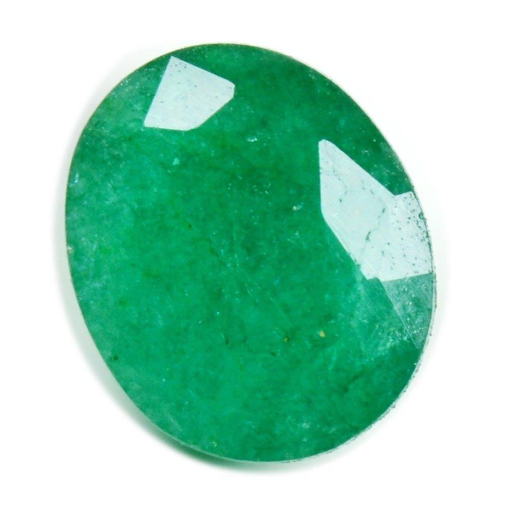 Natural Emerald Loose Gemstone 4 Carat Oval Shape Chakra Healing May Birthstone Astrological Beads AAA+