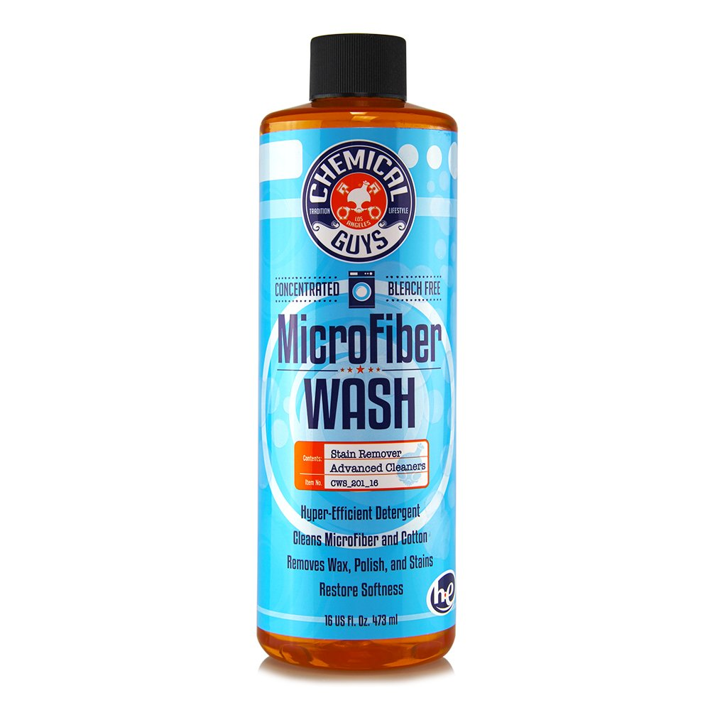 Chemical Guys CWS_201_16C12 Microfiber Wash Cleaning Detergent Concentrate (16 oz) (Case of 12) by Chemical Guys (Image #1)