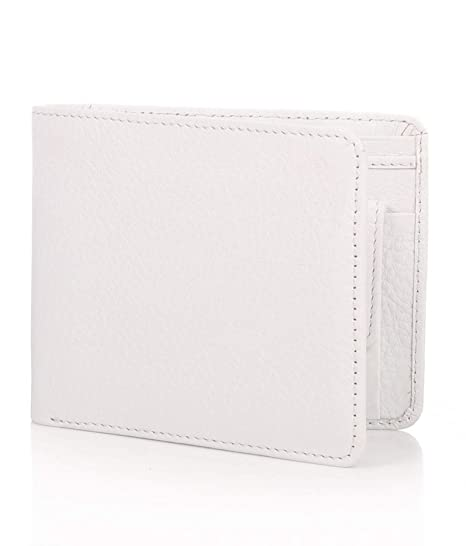 Southpole Fashions White PU Men's Wallet   Wallets for Men   Leather Wallets for Men  