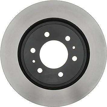Disc Brake Rotor-Non-Coated Rear ACDelco Advantage 18A124A