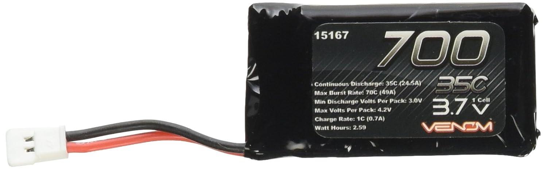 35C 1S 700mAh 3.7C LiPO Battery