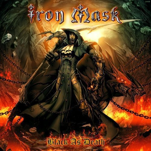 Vinilo : Iron Mask - Black As Death (2PC)