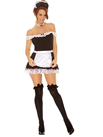 Latina french maid lingerie
