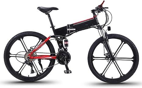 NYPB Bicicleta Eléctrica Plegables, 350W Motor Batería 36V 8Ah con ...