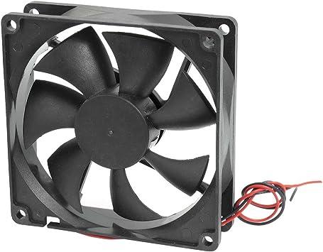90mm x 90mm x 25mm caja de la computadora CPU Cooler DC ventilador ...