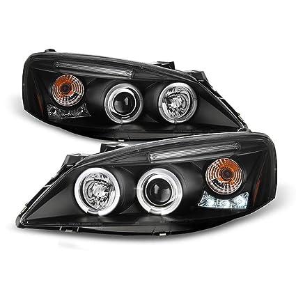 Headlight fits 2005-2010 Pontiac G6 Driver Headlamp w// Amber Signal Assembly